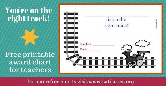 On the Right Train Track Award Chart