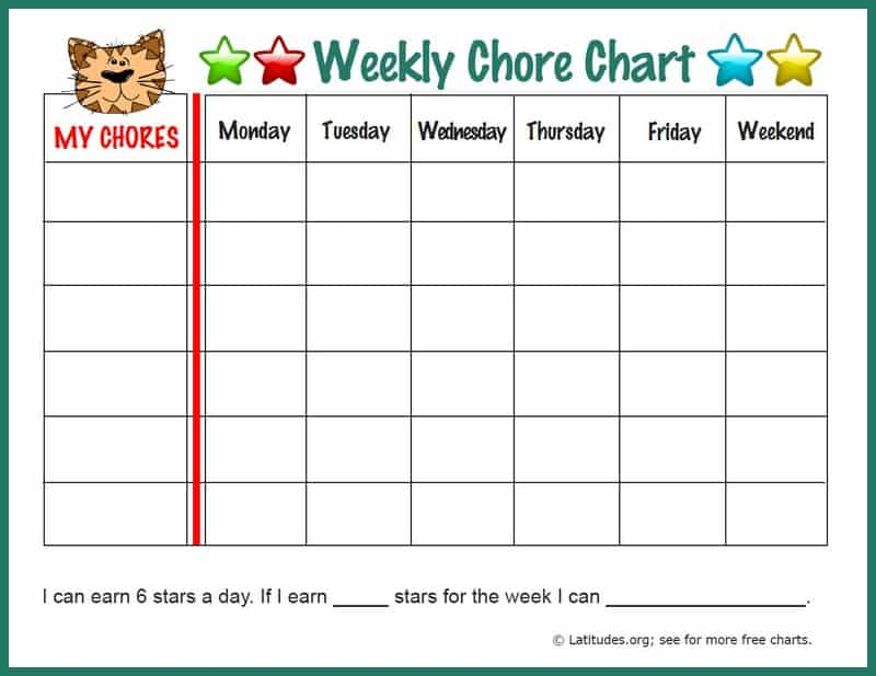 Sample Chart Templates monthly behavior chart template : Want to be sure your behavior chart efforts are successful?