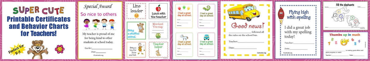 Free Super Cute Teacher Pack Home Page (Slim)